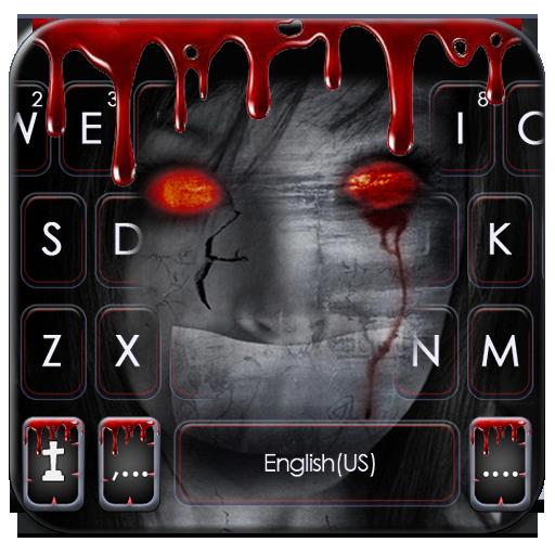 Тема для клавиатуры Creepy Devil