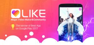 LIKE - Магический Видеоредактор и Сообщество