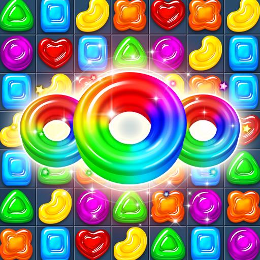 Jewel World - Ювелирные пазлы с конфетами