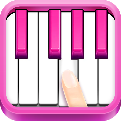 Real Pink Piano - Instruments Music Kid Piano Cat