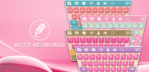Smile Kitty GO Keyboard Theme