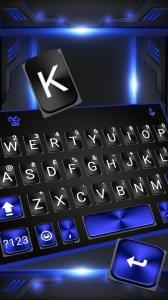 Тема для клавиатуры Cool Black Plus