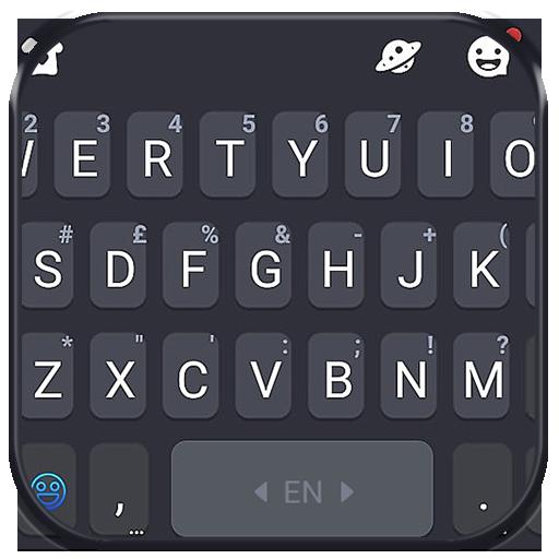 Тема для клавиатуры Simple Grey