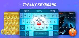 Клавиатура Typany – Смайлы, Темы