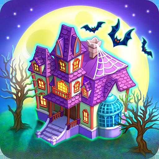 Monster Farm: Ферма - Хэллоуин в Городке Монстров