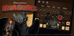 Тема для клавиатуры Train Your Dragon3