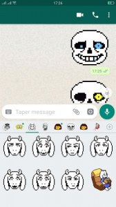 Undertale Stickers for Whatsapp