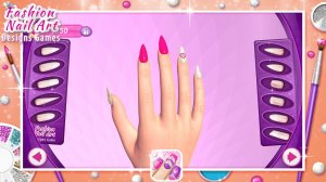 Fashion Nail Art Designs Game