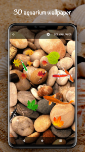 Fish On Screen 3D Wallpaper