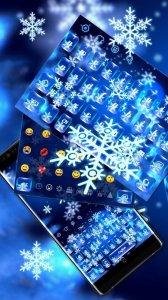 Crystal Winter Snowflake Theme