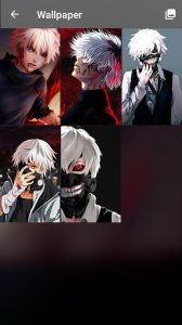 Ken Kaneki Anime Fun Art PIN Lock Screen