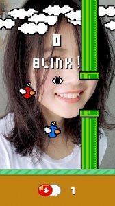Flying face - True blinking game