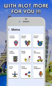 Водительские навигационные GPS-оповещения - карта