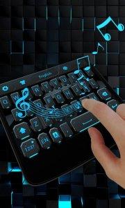 Future Mecha GO Keyboard Theme
