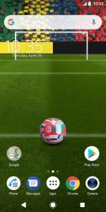 XPERIA Team World Live Wallpaper