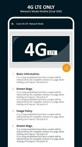 4G LTE Only - 4g LTE Mode