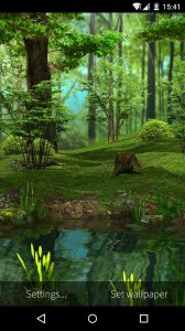 3D Deer - Nature Live Wallpaper
