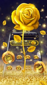 Golden Luxury Rose Theme
