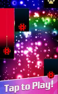 Piano Ladybug Noir Tiles