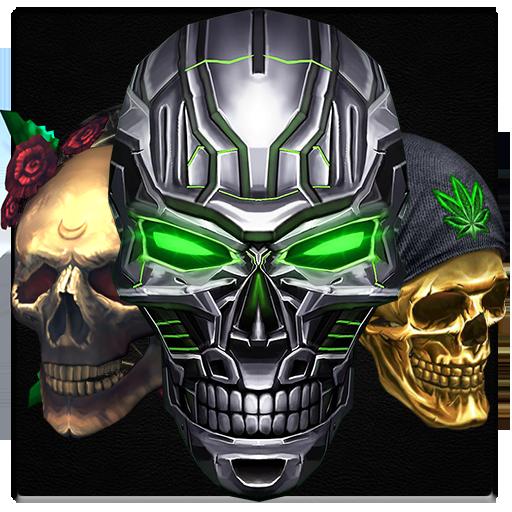 Evil Skull Keyboard