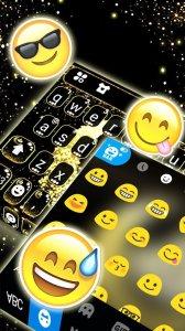 Тема для клавиатуры Glitter Allah