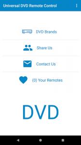 Universal DVD Remote Control
