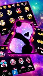 Тема для клавиатуры Galaxy Baby Panda2