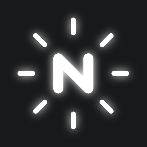 NEONY - текст неонового текста на фотографии легко