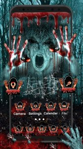 Scary Horror Launcher Theme Live HD Wallpapers