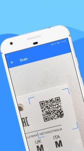 QR сканер - сканер штрих кодов (WeScan)
