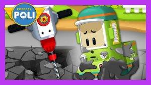 Robocar Poli Concrete Rescue Game