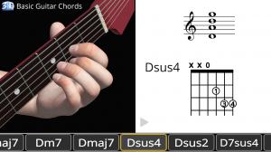 Базовые гитарные аккорды в 3D - Guitar Chords 3D