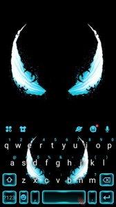 Тема для клавиатуры Evil Eyes