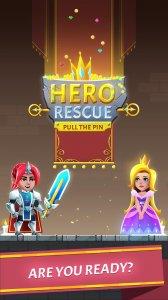 Hero Rescue: Pin Puzzle