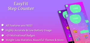 Step counter: EasyFit pedometer